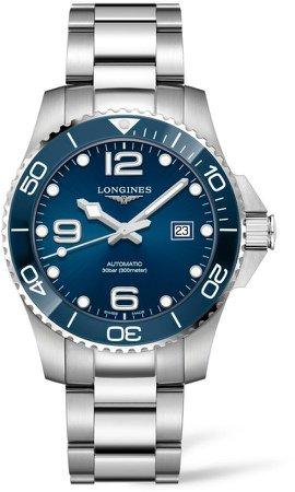 HydroConquest Automatic Bracelet Watch, 43mm