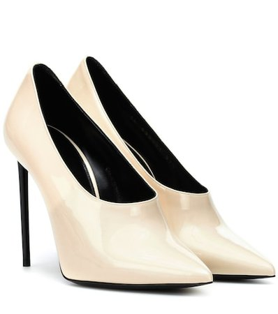 Teddy patent leather pumps