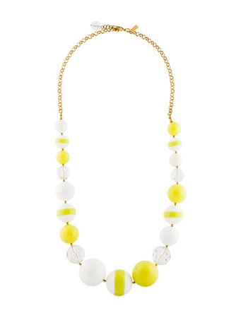 Kate Spade New York Resin Bead Necklace - Necklaces - WKA83343 | The RealReal