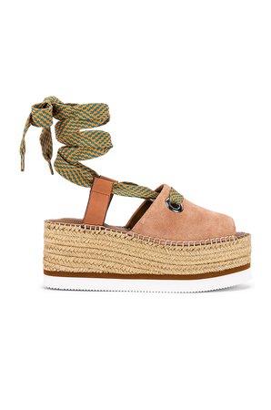 Glyn Wrap Platform Sandal