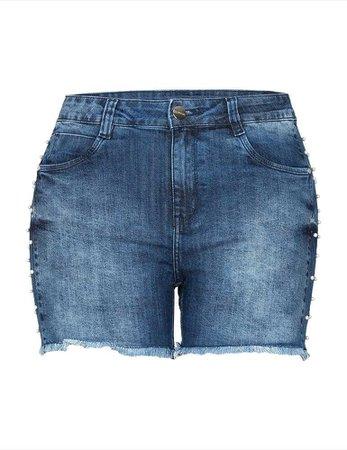 Shorts e Bermuda Jeans Plus Size   Roupas   Loja Fact Jeans
