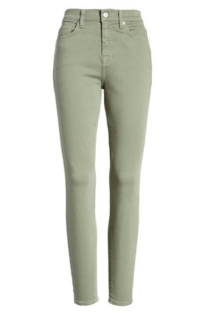7 For All Mankind® High Waist Ankle Skinny Jeans   Nordstrom