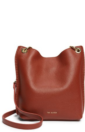 Mini Holiiee Leather Crossbody Bag
