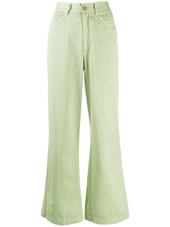 Forte Forte wide-leg Cropped Trousers - Farfetch