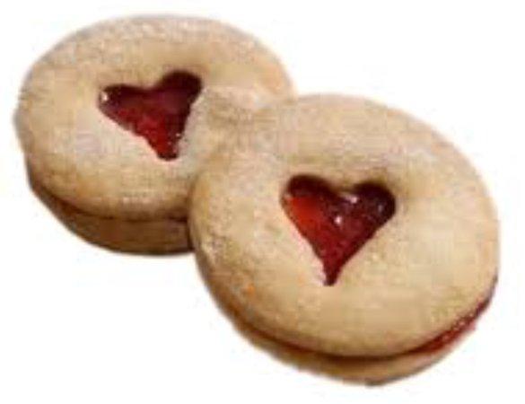 ❤️ jam heart cookies ❤️