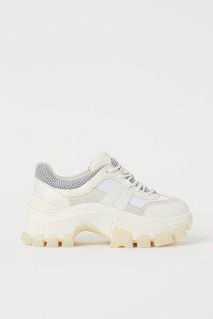 Chunky Sneakers - White