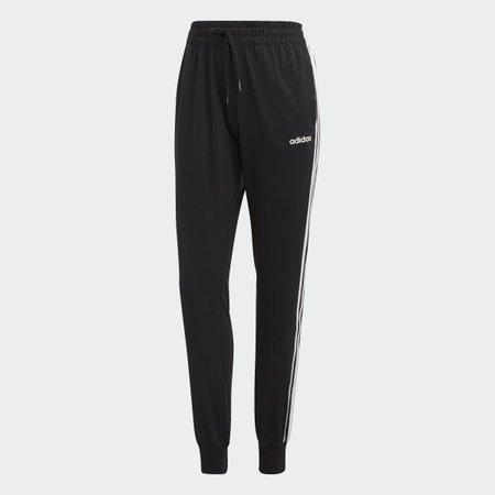 adidas Essentials 3-Stripes Pants - Black   adidas US