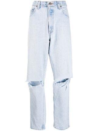 Danielle Guizio x Levi's straight-leg Jeans