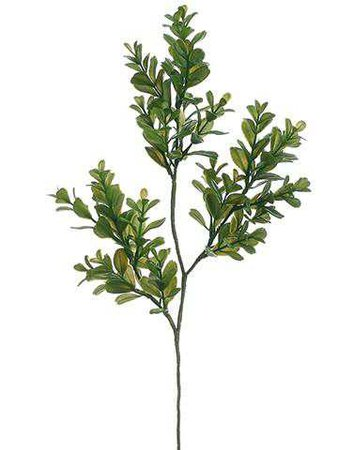 Boxwood Leaf Spray | Artificial Outdoor Flowers | Afloral.com