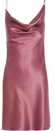 Cushnie Embellished Silk-satin Mini Dress