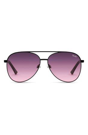 Quay Australia Vivienne 64mm Aviator Sunglasses   Nordstrom