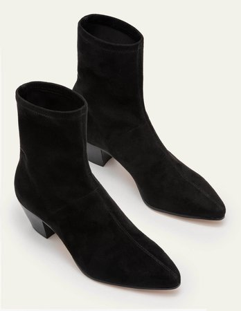 Western Stretch Boots - Black | Boden US