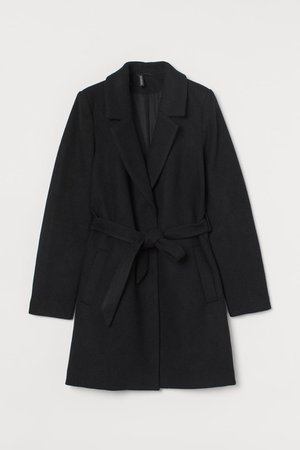 Wool-blend Coat - Black - Ladies | H&M US