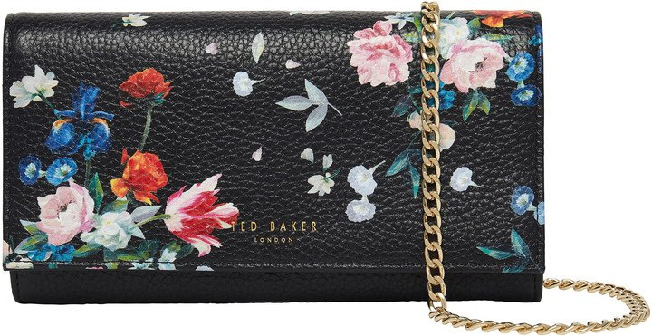 Bllayke Floral Leather Crossbody Bag