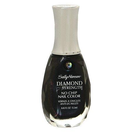Sally Hansen Diamond Strength No Chip Nail Polish, Black Diamond