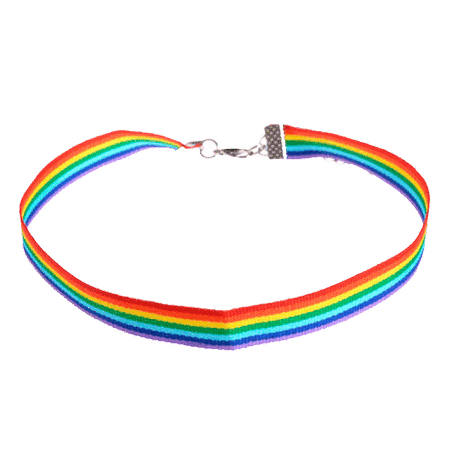 itGirl Shop | RAINBOW THICK CHOKER
