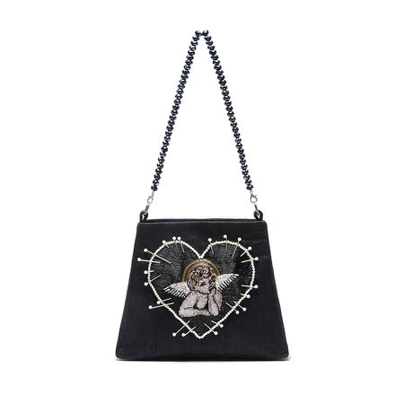 Cherub Bag in Black - Clio Peppiatt