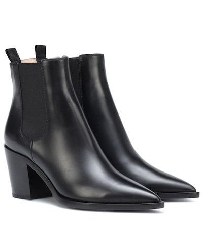 Romney leather ankle boots