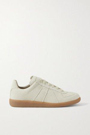 Replica Canvas Sneakers - Ecru