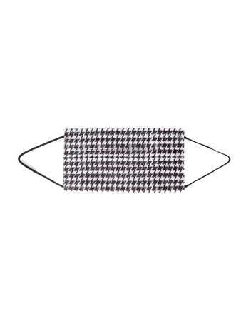 Barriere Houndstooth Mask
