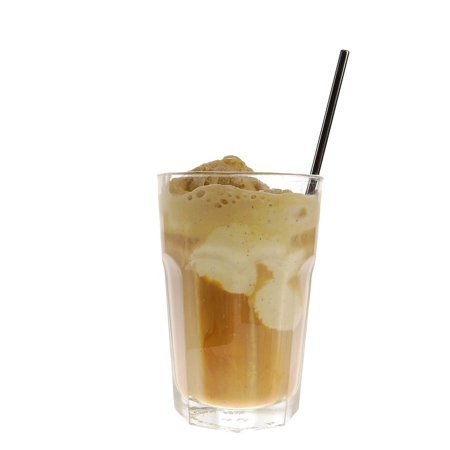 LAMINATED POSTER Eiscafe Ice Glass Coffee Cup Drink Iced Coffee