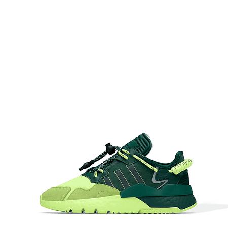 NITE JOGGER SHOES DARK GREEN / DARK GREEN / HI-RES YELLOW Adidas x Ivy Park