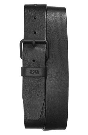 BOSS Serge Leather Belt | Nordstrom