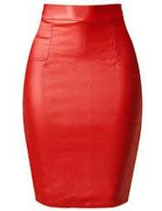red pencil skirt mini - Google Search