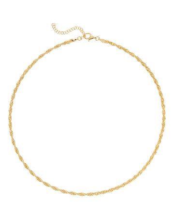 Argento Vivo Lourdes Chain Necklace| INTERMIX®