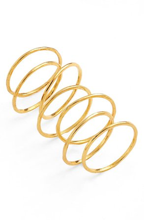 gorjana Set of 3 Rings (Set of 3) | Nordstrom