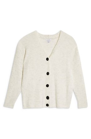 Topshop Button Front Cardigan (Regular & Petite) | Nordstrom