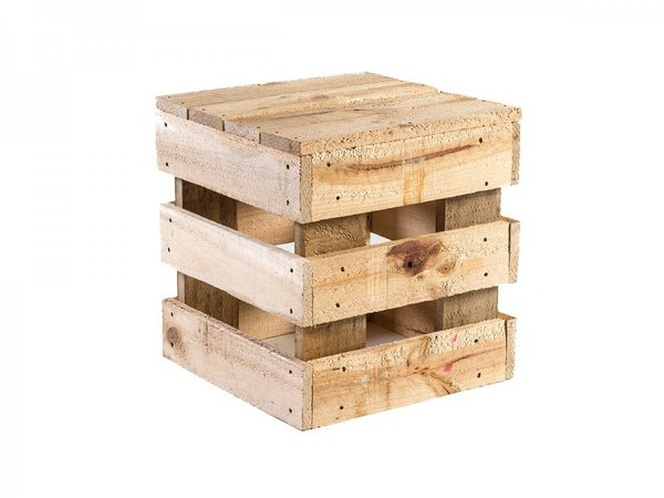 Pallet coffee table stool