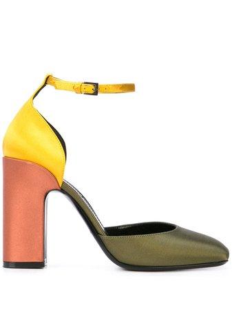 Fabrizio Viti Colour Block Sandals - Farfetch