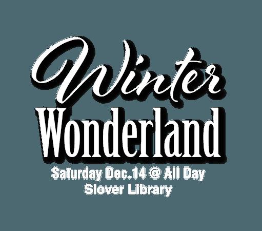 winter wonderland text - Google Search