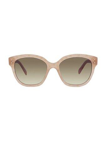 CELINE 55MM Rectangular Sunglasses   SaksFifthAvenue