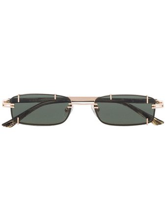 Y/Project black Neo sunglasses £371 - Fast Global Shipping, Free Returns