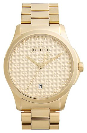 Gucci Round Bracelet Watch, 38mm | Nordstrom