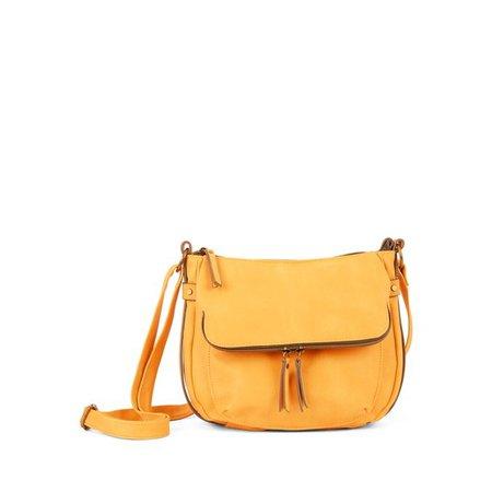 Time and Tru - Time and Tru Dayana Essential Crossbody Bag with Adjustable Strap - Walmart.com - Walmart.com