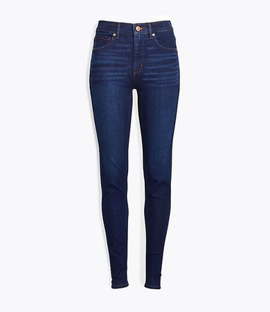 Petite Skinny Jeans in Classic Dark Indigo Wash