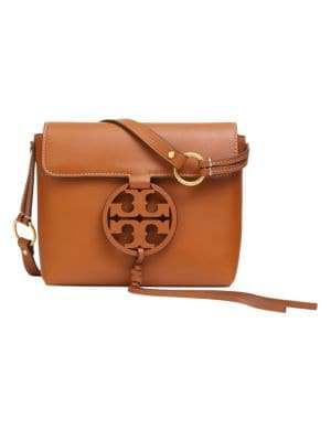 Tory Burch - Miller Leather Crossbody Bag - saks.com