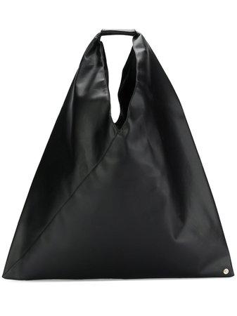 Black MM6 Maison Margiela Japanese tote - Farfetch
