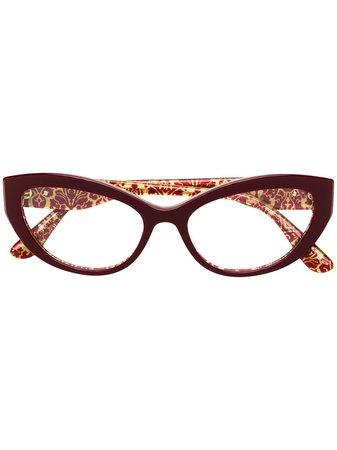 Dolce & Gabbana Eyewear Cat-Eye Glasses Continuity | Farfetch.Com