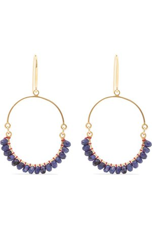 Isabel Marant   Gold-tone bead earrings   NET-A-PORTER.COM