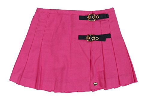 Juicy Couture Girl's Baby Infant Toddler Skirt JCQIG801 Hot Pink Rose 3-24 Months (6-12 Months) | WantItAll