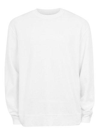Classic White Sweatshirt