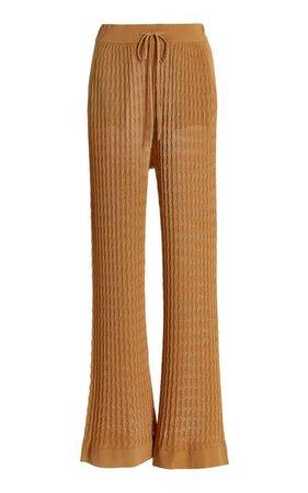 Gail Pointelle-Knit Pants By Dodo Bar Or | Moda Operandi