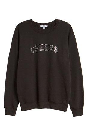 Sub_Urban Riot Cheers Willow Sweatshirt black