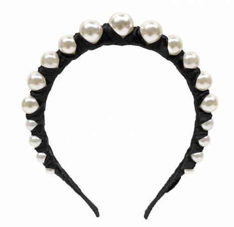 Givenchy Pearl Headband