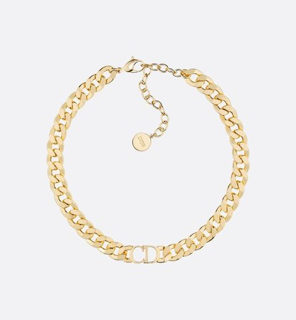 Danseuse Etoile Choker Necklace Gold-Finish Metal - Fashion Jewelry - Women's Fashion | DIOR