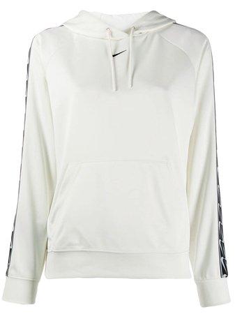 White Nike Monochrome Hoodie | Farfetch.com
